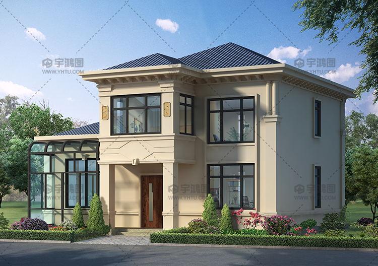 二层欧式小别墅设计方案带全套施工图纸
