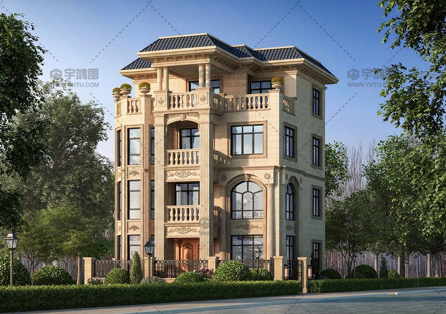 四层小户型复式别墅设计图纸