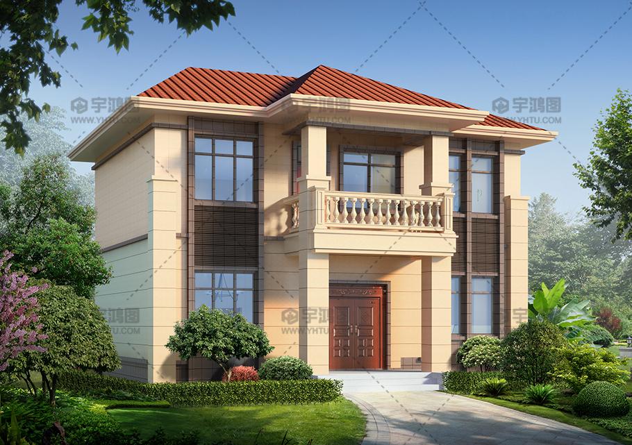 新农村二层经济型小别墅设计图