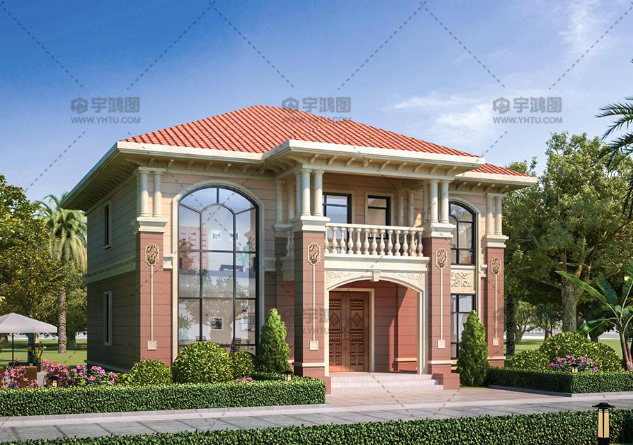 新农村漂亮二层小别墅设计图纸