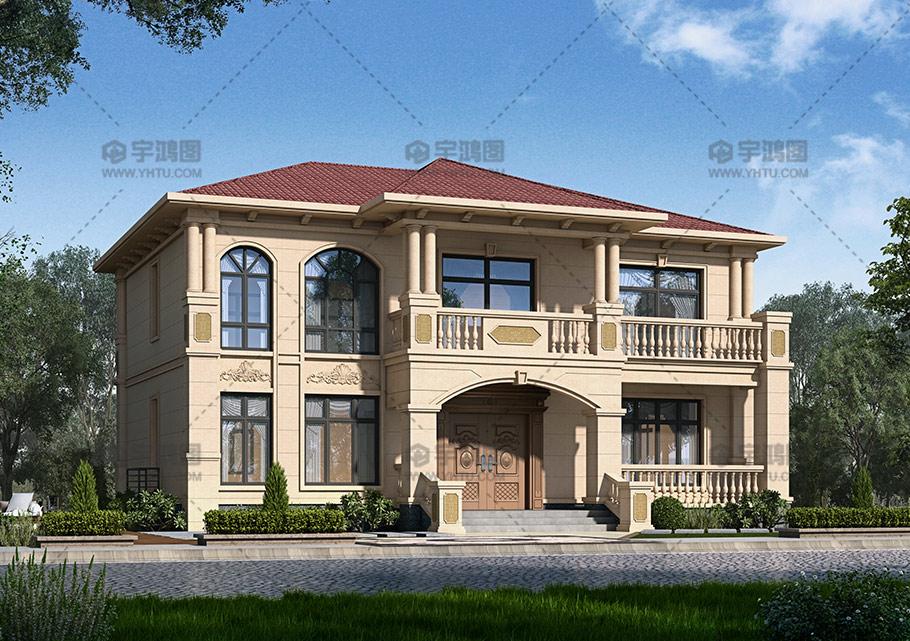 新农村二层舒适自建房设计图