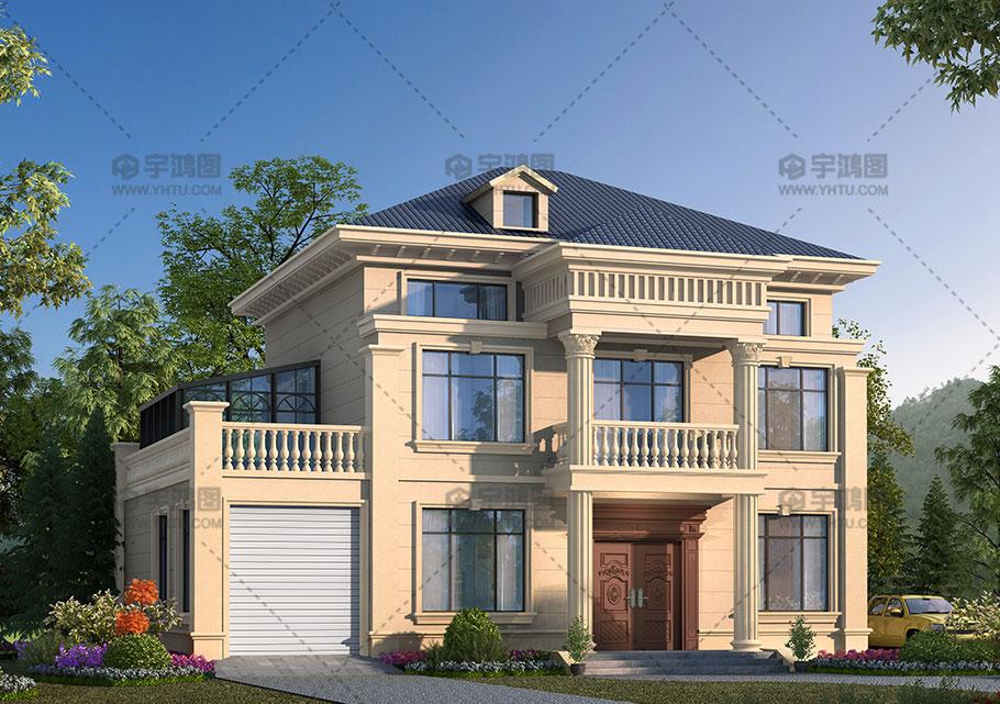 190平两层复式客厅别墅图纸