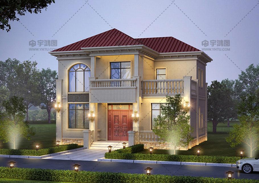 简单又好看的农村15万元二层别墅小楼设计图
