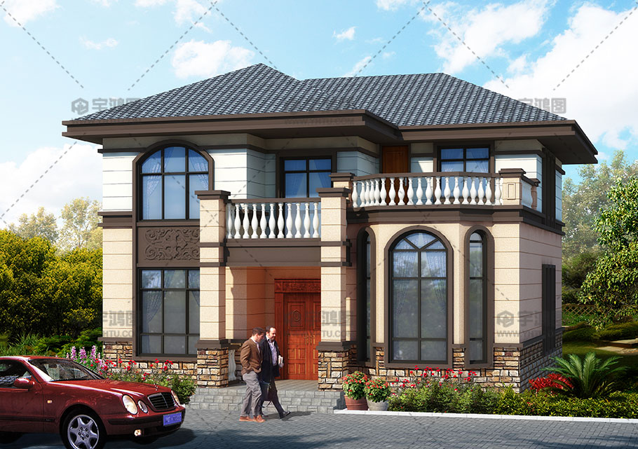 120平米农村房屋设计图纸,实用耐看还造价低