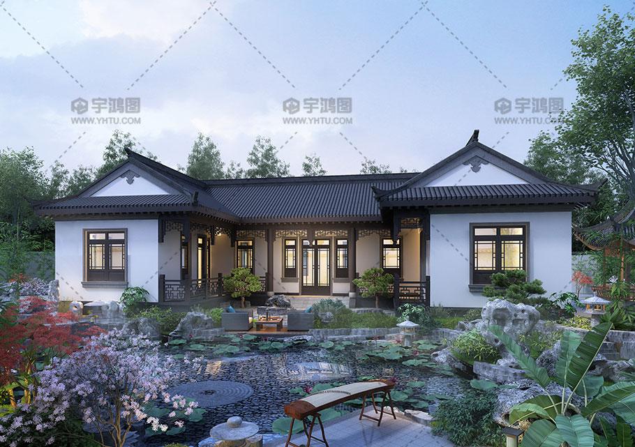 200平经典中式房屋设计图纸