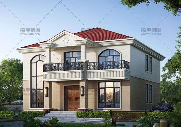 12x13米两层框架结构别墅图纸